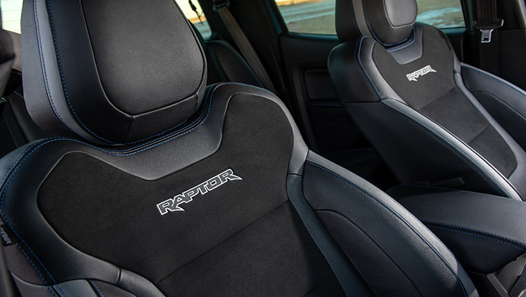 Ford Raptor Seats